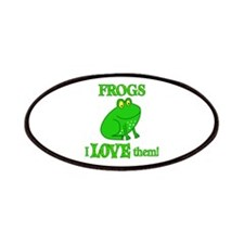 Frogs Love Them Patches