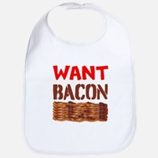 Want Bacon Bib