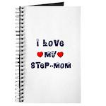 I Love MY STEP-MOM Journal