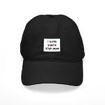 I Love MY STEP-MOM Black Cap