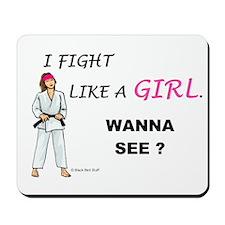Fight Like A Girl Mousepad