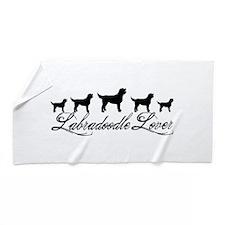 Labradoodle Lover Beach Towel