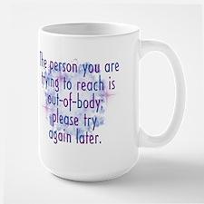 Out of Body Large Mug