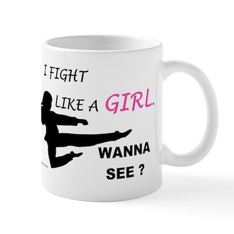 Fight Like A Girl 1 Mug