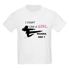 Fight Like A Girl 1 T-Shirt
