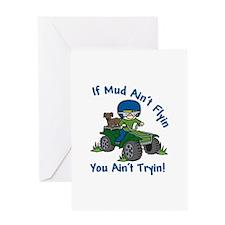 Flyin Mud Greeting Cards