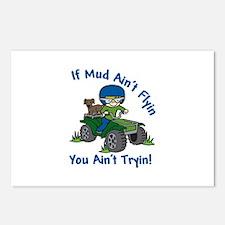 Flyin Mud Postcards (Package of 8)