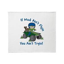 Flyin Mud Throw Blanket