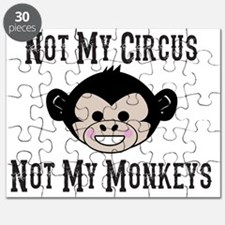 Not My Circus, Not My Monkeys (Cute) Puzzle