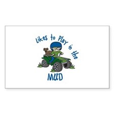 Play in the Mud Decal