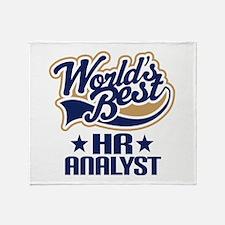 HR analyst Throw Blanket