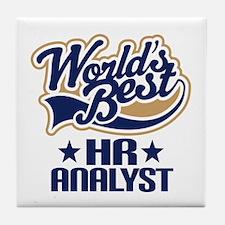HR analyst Tile Coaster
