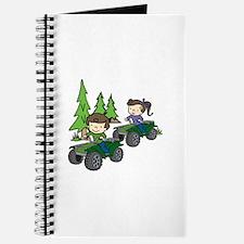 Kids Riding ATVs Journal