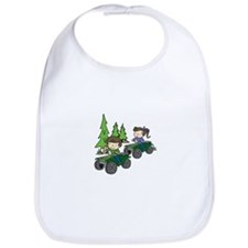Kids Riding ATVs Bib