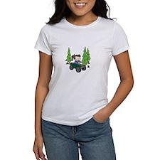 Girl Riding ATV T-Shirt