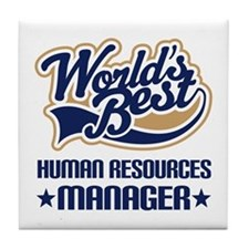 Human resources manager Tile Coaster