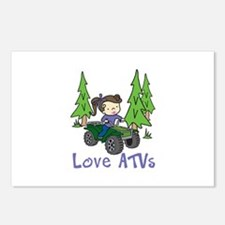 Love ATVs Postcards (Package of 8)