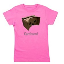 Funny Cardboard Girl's Tee