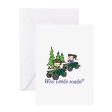 Who Needs Roads? Greeting Cards
