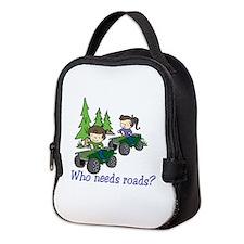 Who Needs Roads? Neoprene Lunch Bag