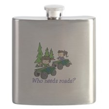 Who Needs Roads? Flask