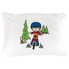 Moto-X Boy Pillow Case