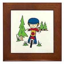 Moto-X Boy Framed Tile