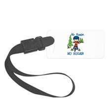 No Roads No Rules Luggage Tag
