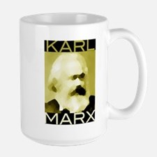 Karl Marx Large Mug