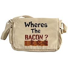 Wheres The Bacon Messenger Bag