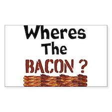 Wheres The Bacon Decal