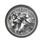 Arabian Horses Wall Clock