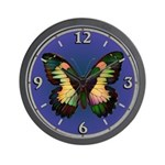 Luminous Butterfly Wall Clock