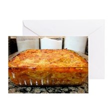 lasgna Greeting Card