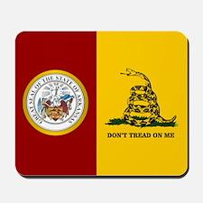 Arkansas Gadsden Flag Mousepad