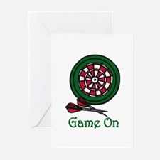 Game On Greeting Cards