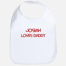 Josiah Loves Daddy Bib