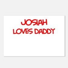 Josiah Loves Daddy Postcards (Package of 8)