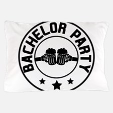 Bachelor Party Pillow Case