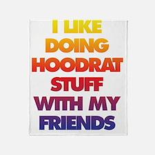 Hood rat Throw Blanket