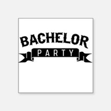 Bachelor Party Sticker
