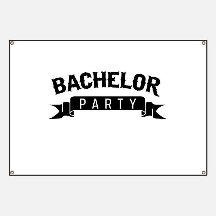 Funny Bachelor Party Banners & Signs | Vinyl Banners ...