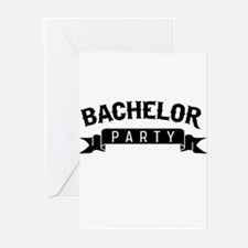 Bachelor Party Greeting Cards