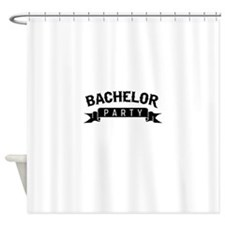 Bachelor Party Shower Curtain
