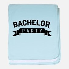Bachelor Party baby blanket