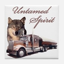 Untamed Spirit Tile Coaster
