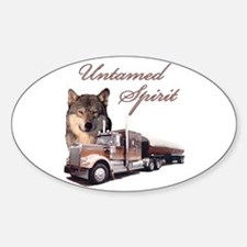 Untamed Spirit Oval Decal