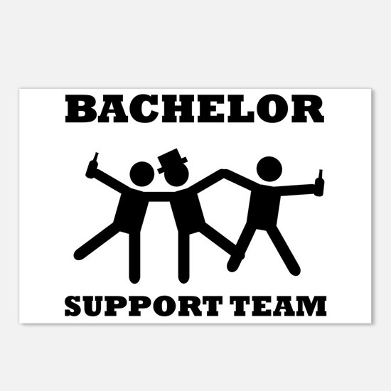 Bachelor Support Team Postcards (Package of 8)
