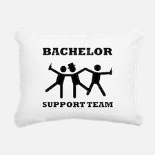 Bachelor Support Team Rectangular Canvas Pillow