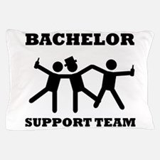 Bachelor Support Team Pillow Case